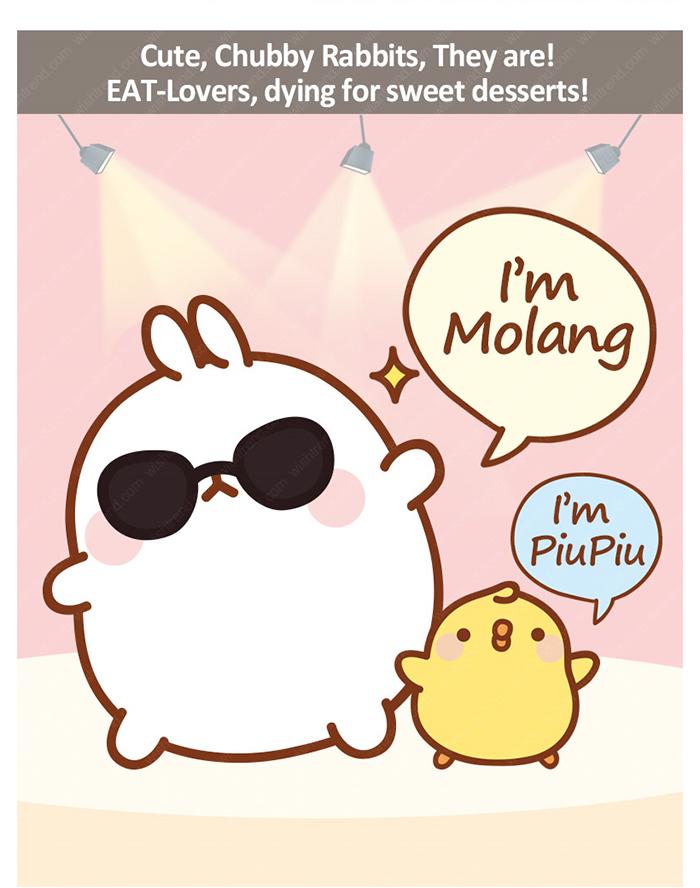 I am Molang I am PiuPiu