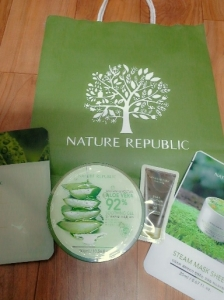 aloe vera soothing gel nature republic