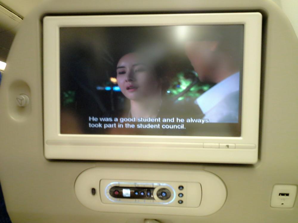 Korean Air cabin molang mollakorea