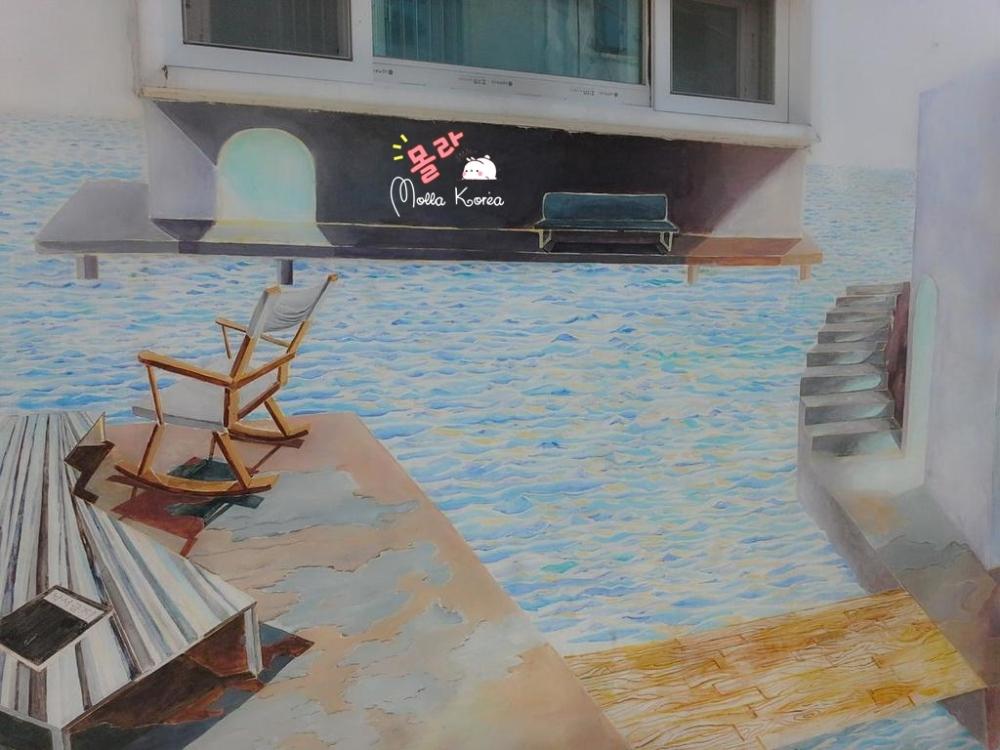 canal-house-painting-mural-village-seoul-molang-korea-mollakorea