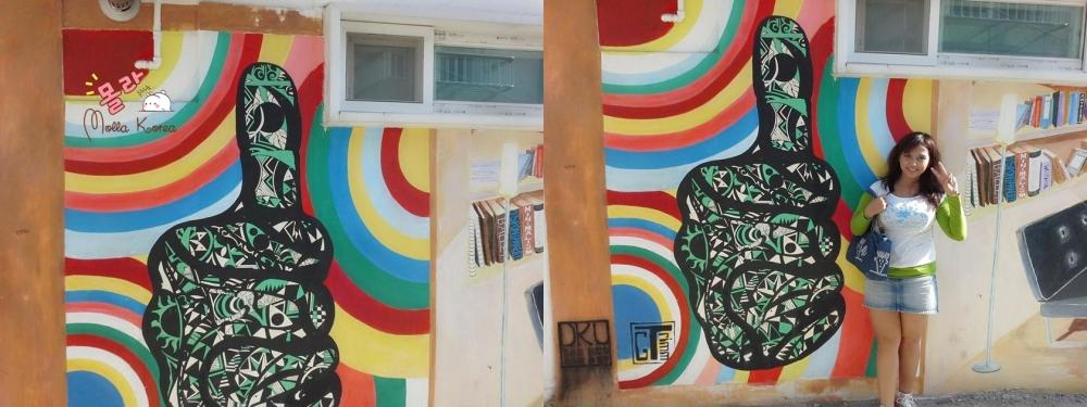 thumbsup-painting-mural-village-seoul-molangkorea-molla-korea