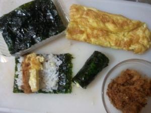 how to make mini kimbap mayak kimbab molangkorea