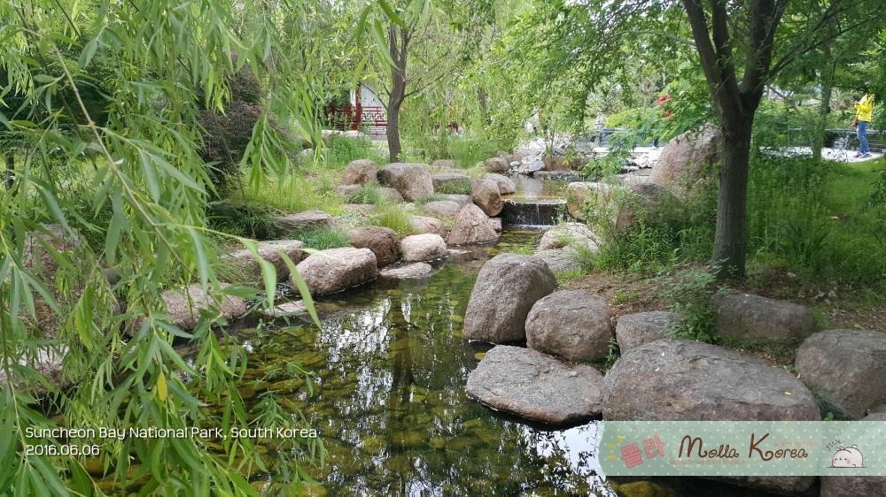 2016060 Stone River Suncheon Bay National Park Molang Korea