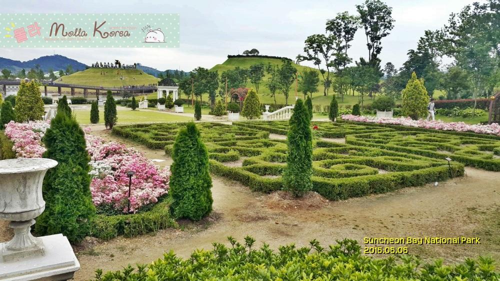 2016060 Green Garden Suncheon Bay National Park Molang Korea