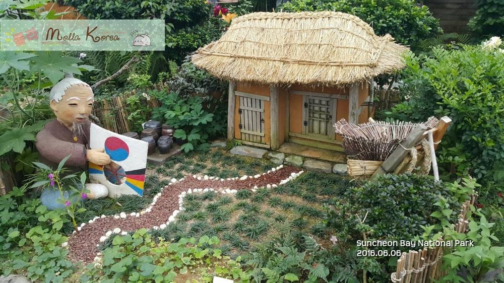 20160606 14 Korean Hanok House Suncheon Bay National Park Molang Korea
