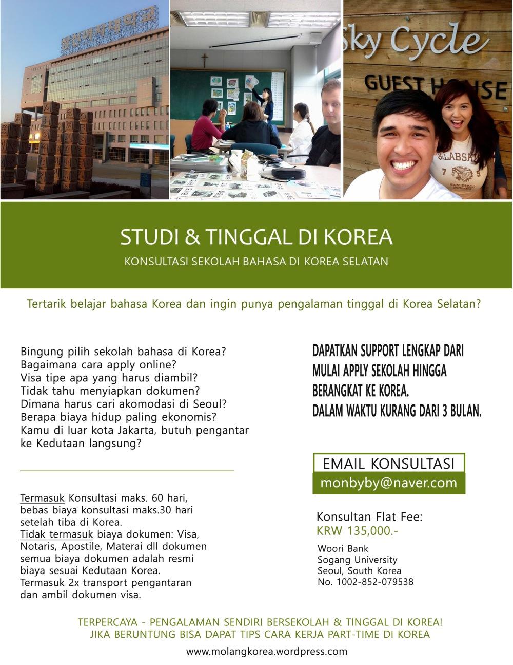 Konsultasi Sekolah Bahasa Korea_MolangKorea