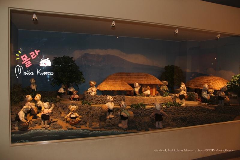 Jeju Island 01 Teddy Bear Museum. Photo ©2018 MolangKorea