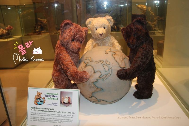 Jeju Island 17 Teddy Bear Museum Photo ©2018 MolangKorea